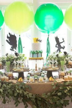 Where the Wild Things Are Birthday Party Ideas | Photo 15 of 40