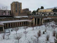 DECEMBER 2014 OPLONTIS TORRE ANNUNZIATA WITH SNOW