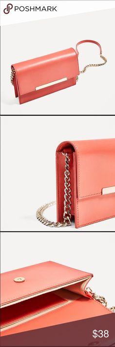 Zara Leather Crossbody bag New Zara Bags Crossbody Bags