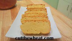 Moist, buttery pound cake. Gluten free and sugar free!