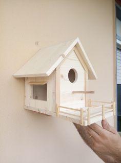 casetta nido per cinciallegre e altri uccellini di piccole