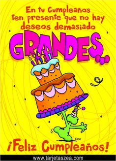 Birthday messages in Spanish Happy Birthday Sister, Happy Birthday Messages, Happy Birthday Quotes, Friend Birthday, Birthday Greetings, Birthday Stuff, Funny Birthday, Spanish Birthday Wishes, Cute Words