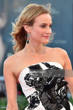 Diane Kruger attends a premiere for '11 Minutes' during the 72nd Venice Film Festival at Sala Grande on September 9, 2015 in Venice, Italy.