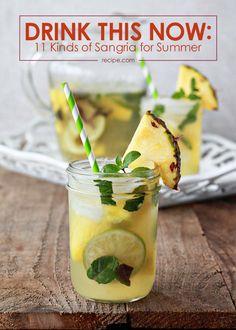 11 Kinds of Sangria for Summer