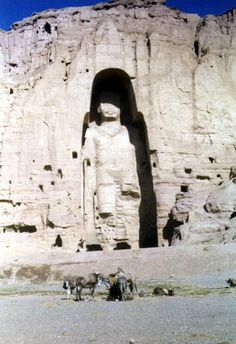 Buddhas of Bamiyan, 1972 بت های