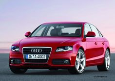 Image detail for -Audi A4 Red » Audi A4 Red
