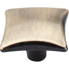 View the Top Knobs M255 Chateau II Collection 1-3/8 Inch Dark Antique Brass Square Cabinet Knob at PullsDirect.com.