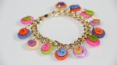 DIY: Button Bangle Bracelets! Video: http://youtu.be/ZPyn1paAQEk Blog: http://jamiepetitto.tumblr.com/post/112827689253/diy-button-bangles