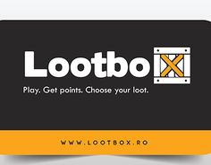 """Check out new work on my @Behance portfolio: """"Business Card Design - Lootbox Online Shop"""" http://be.net/gallery/55201009/Business-Card-Design-Lootbox-Online-Shop"""