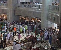 Guindaste cai em mesquita de Meca deixa ao menos 107 mortos - Veja Vídeo