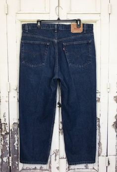 Vintage Levis 550 Relaxed Fit Jeans Mens Sz 40x30 Actual 40x27 Zip Fly  Cotton 0066e1894