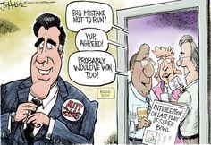 Mitt Romney won't run