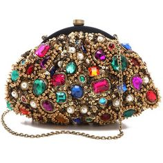 Jeweled Sandals From India | Shop > Handbags > Clutches > Santi clutches >