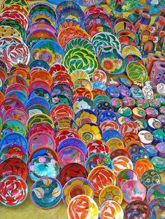 Ceramics, Yucatan, Mexico.