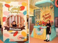 2013香港海港城萬聖節Candy Factory Pop Display, Display Design, Booth Design, Menu Bar, Photo Zone, Exhibition Display, Creative Advertising, Kids Events, Baby Party