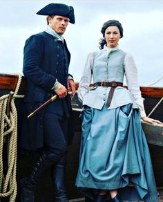 Outlander America™ : New photo of Jamie and Claire, Outlander Season 3.