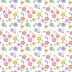 Paisleigh Dainty Blooms White  by Maude by spiceberrycottage, $7.95