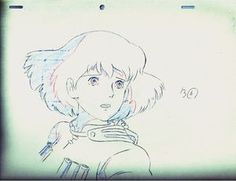 Kaze no Tani no Nausicaa / Nausicaa in the Valley of the Wind SKETCH