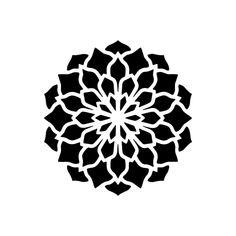 Mandala Design, Geometric Mandala, Geometric Designs, Geometric Shapes, Flower Mandala, Mandala Art, 3d Cuts, Mandala Stencils, Semi Permanent Tattoo