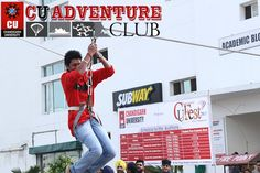 #CUians give themselves an adrenaline push with vigorous tasks and activities at the #CU #Adventure #Club.