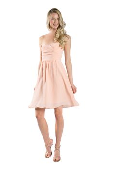 @lulakate matte silk Ella dress in pink. Discover more bridesmaid dresses to rent at vowtobechic.com.