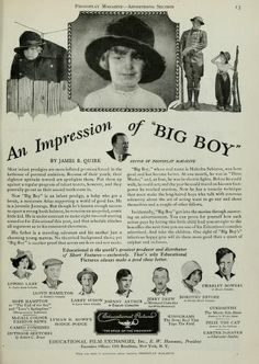 Actress Dorothy Devore On Page 29 Of The June 21 1919 Exhibitors