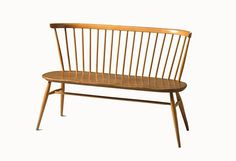 As part of the Ercol originals range the Loveseat is an extension of the traditional Windsor chair-making skills. The Love Seat seats a couple and can be u