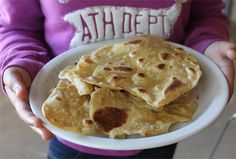 Cooking with Kids - Indian Parathas / Paranthas