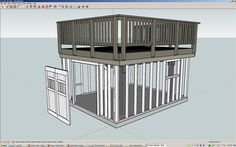 Building a Shed under a Deck – Allan Lilly http://www.custommade.com/blog/building-a-shed-under-a-deck-allan-lilly/