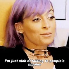And she brings attention to other struggles that need awareness as well. | Nicole Richie Is Actually The Voice Of Our Generation