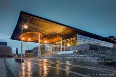 Senedd, National Assembly building, Cardiff, Wales