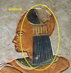 The sidelock of youth (also called a Horus lock, Prince's lock, Princess' lock…
