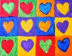 """Una actividad muy """"romántica"""" para trabajar los colores primarios y secundarios e introducir a los niños en el concepto de círculo cromático"""