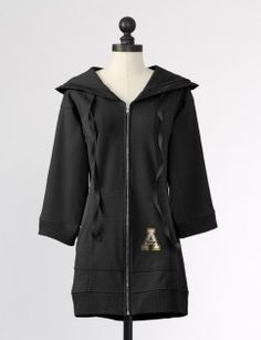 Appalachian State University Hooded Team Tunic in Black