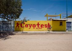 Altar, Sonora, Mexico. Altar is the primary traffic hub for Latino migrants preparing to cross the Sonora Desert into Arizona on foot. Photo by Michael Wells