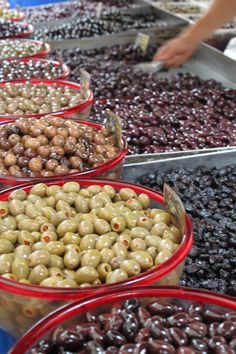 The Culinary Linguist-Homemade-How to Cure Olives - Greek Yia Yia Style