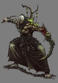 Awesome Wrack concept art