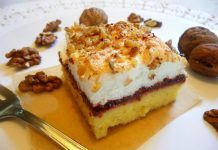 Najlon torta sa orasima i mljevenim keksom Sweet Recipes, Tiramisu, Cupcake Cakes, Cupcakes, Hamburger, Cheesecake, Cooking Recipes, Sweets, Cookies