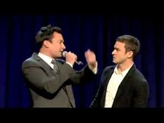 Jimmy Fallon & Justin Timberlake-History of Rap. Um... did this just happen?! Best pin ever!
