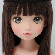 Ooak Dolls, Blythe Dolls, Art Dolls, Doll Face Paint, Doll Painting, Pretty Dolls, Beautiful Dolls, Human Doll, Sewing Dolls