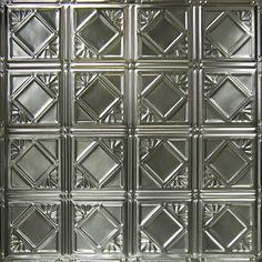 Found It At Wayfair 24 X 24 Tin Panel Backsplash Kit In Brushed
