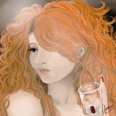 In by hakunamatataluke on DeviantArt Princess Zelda, Disney Princess, Ps, Fantasy Art, Aurora Sleeping Beauty, Deviantart, Digital, Disney Characters, Drawings