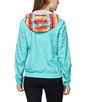 Empyre Bowery Guatemalan Stripe Windbreaker Jacket