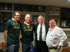 Ellispark Rugby museum  Darius Botha Johan Strauss Swys Joubert