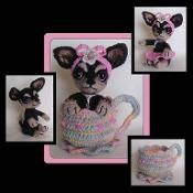 TeaCup Chihuahua Crochet Pattern - via @Craftsy