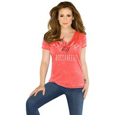 Touch by Alyssa Milano New York Jets Women's The Coop Football Premium Burnout V-Neck T-Shirt - White/Green