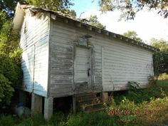 The old African American one room school house on goudlock st in town.