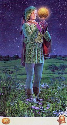 Page Of Pentacles, All Tarot Cards, Vice Versa, Tarot Decks, Magick, Knight, Gallery, Creative, Painting