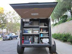 Off road cargo trailer