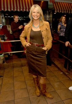 Glamour.Christie Brinkley's Style Evolution.2004 WireImage.